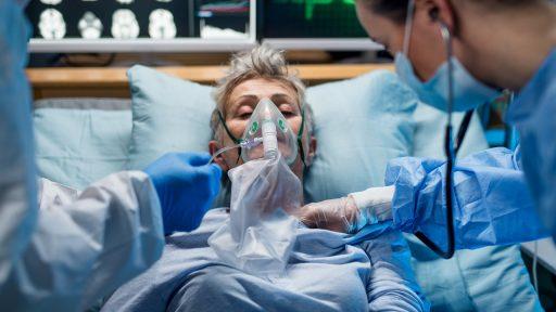 Coronavirus patient ziekenhuis