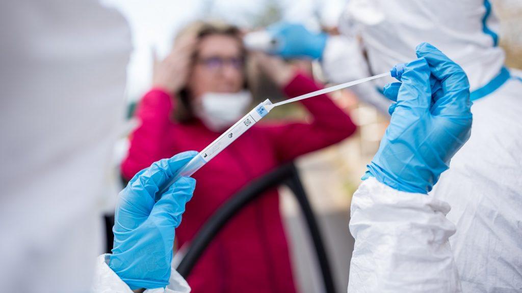 Coronavirus test wisser