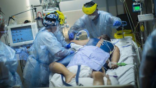 Coronavirus ziekenhuis België 2