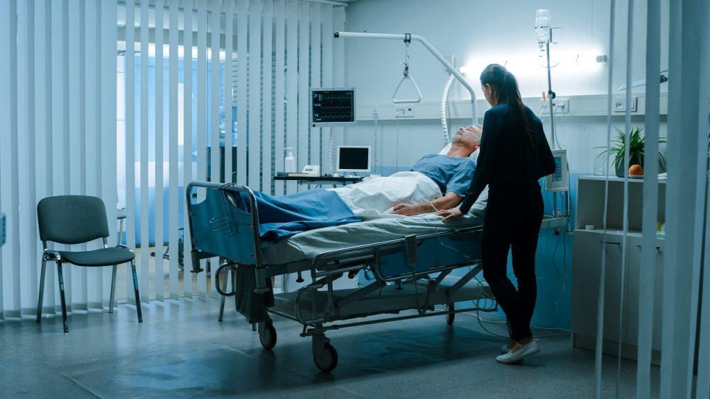 Coronavirus ziekenhuis patient