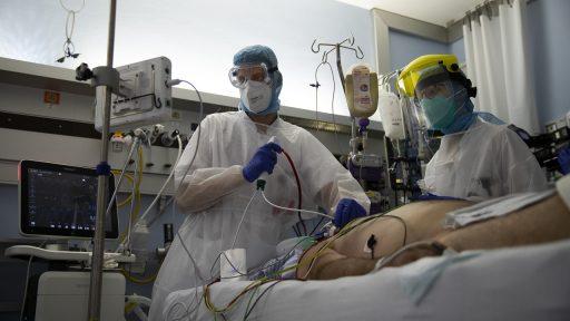 Coronavirus ziekenhuis patiënt beademing België