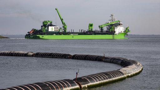 DEME haalt met havenproject in Egypte zijn grootste baggercontract ooit binnen