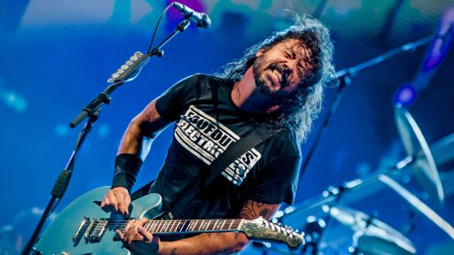Dave Grohl Foo Fighters Medicine at Midnight
