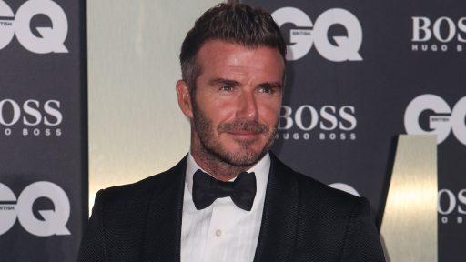 David Beckham Disney