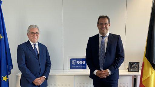 Un Belge, candidat à la tête de l'ESA: il reçoit le soutien du gouvernement