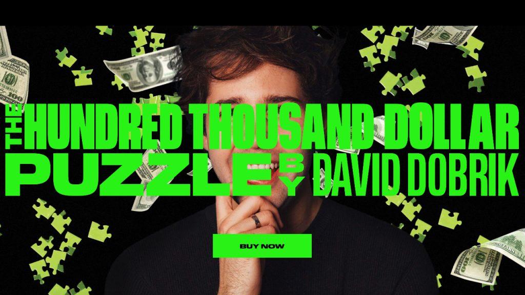 David Dobrik puzzel