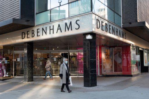 Britse retailreus Debenhams staat op omvallen: 12.000 jobs op de tocht