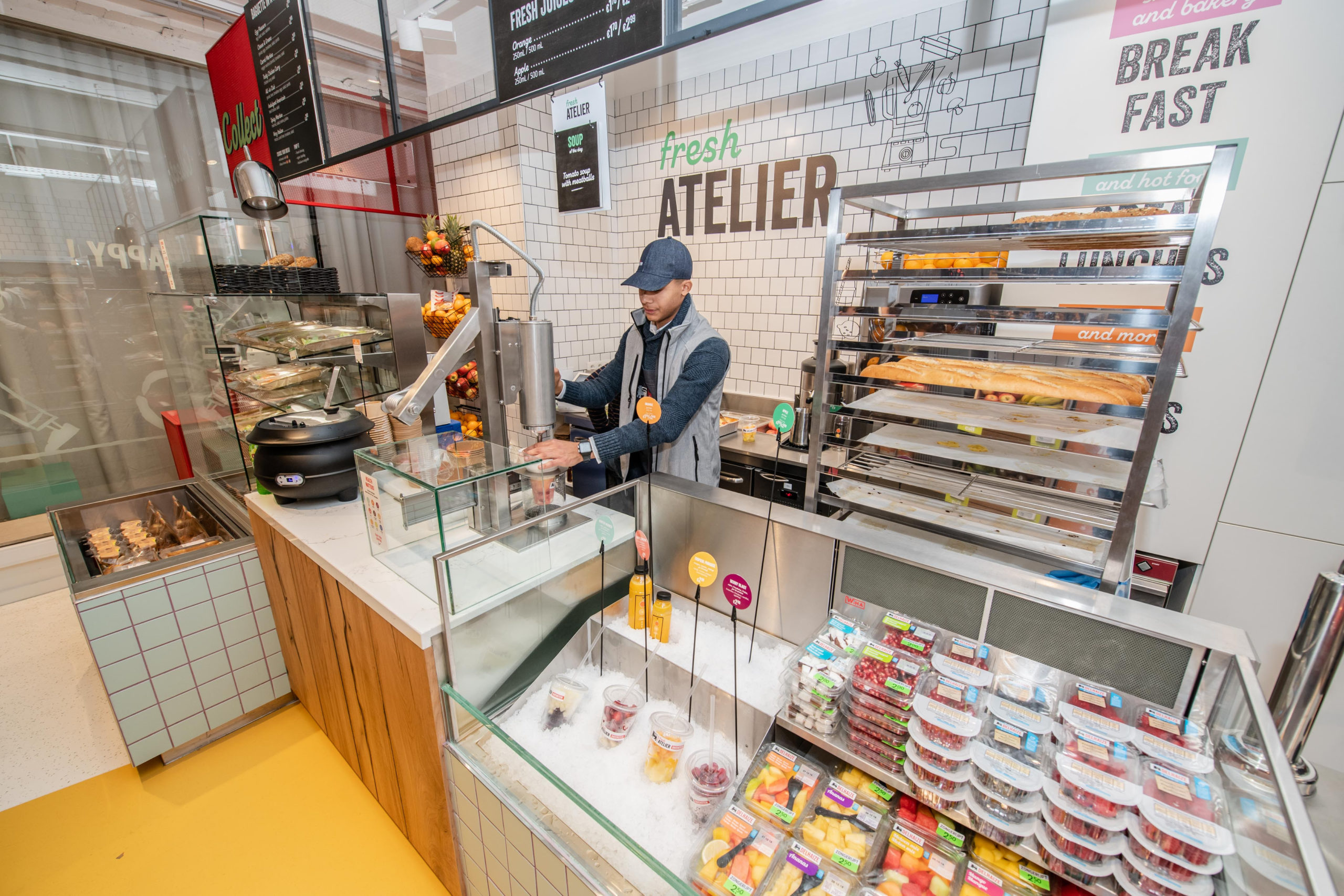 La chaîne de supermarchés Delhaize teste un projet dans le cadre duquel elle livre des aliments sains à domicile via Takeway et Deliveroo.