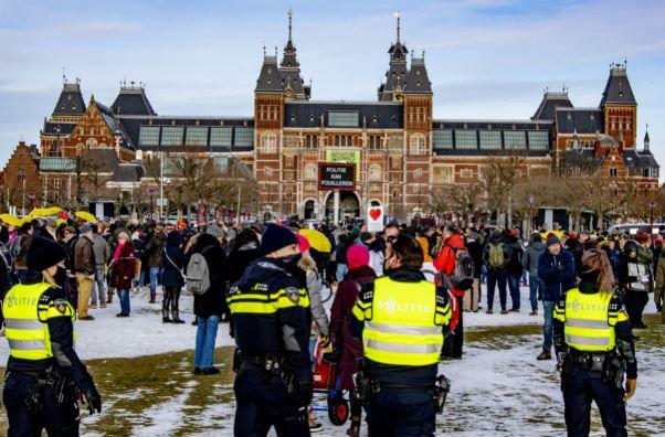 Den Haag betogingen