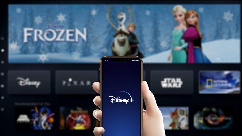 Disney+ Frozen