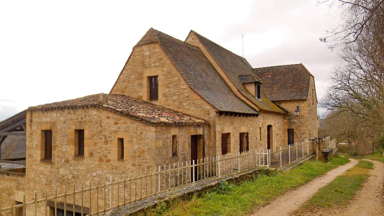 Enkele huizen in Domme