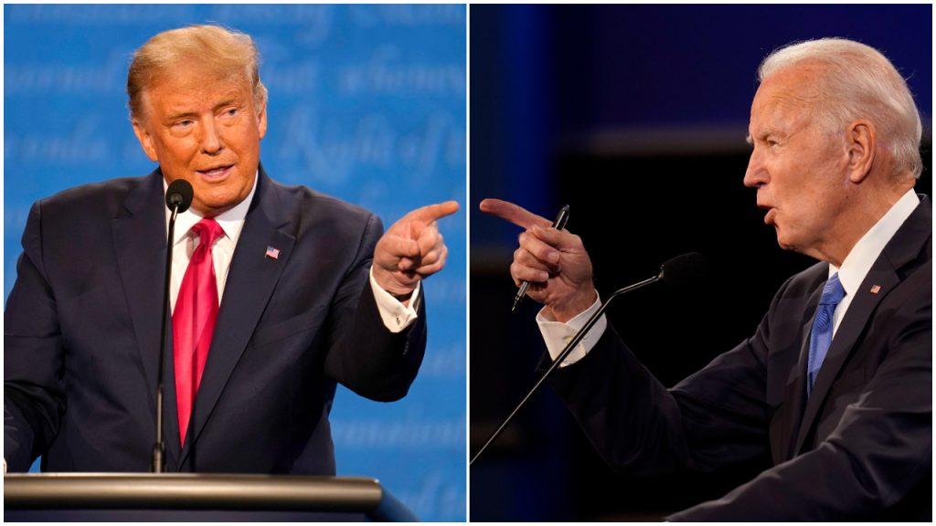 Donald Trump Joe Biden Verkiezingen