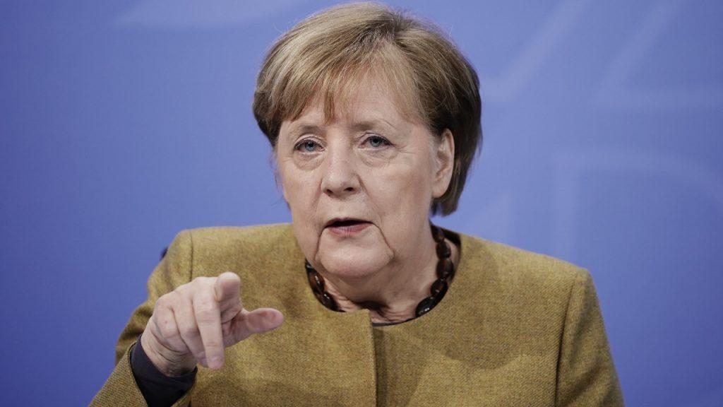 Duitsland lockdown Angela Merkel