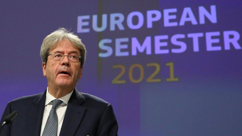 EU-commissaris voor Financiën Paolo Gentiloni