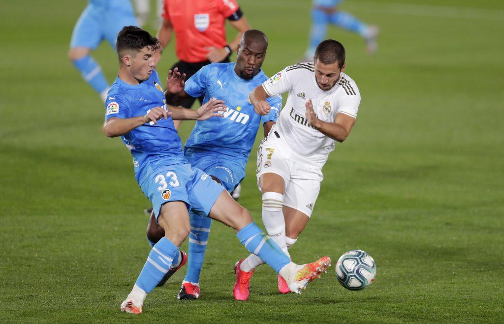 Eden Hazard Real Madrid voetbal
