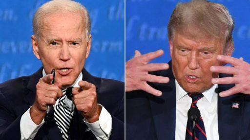Een intriest spektakel, een 90 minuten lange farce, een blamage voor het Amerikaanse democratische stelsel