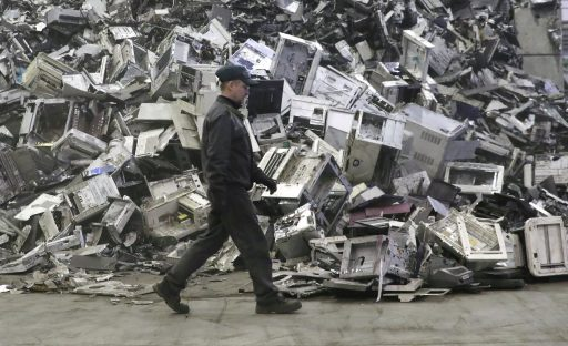 Wereldwijde afvalberg elektronische apparaten: meer dan 50 miljoen ton per jaar