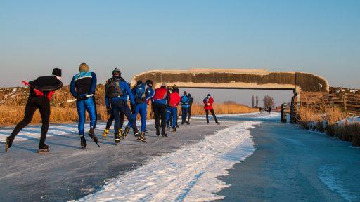 Elfstedentocht Nederland schaatsen