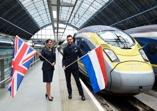 Eurostar wint zestig minuten tijd op route tussen Amsterdam en Londen