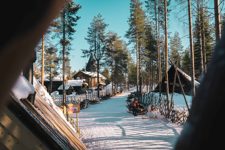 Een dorpje in Finland