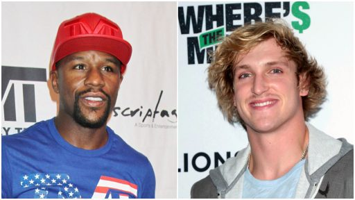 Floyd Mayweather Logan Paul