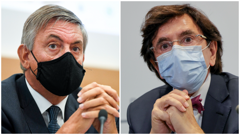 Jan Jambon (N-VA) - Elio Di Rupo (PS)