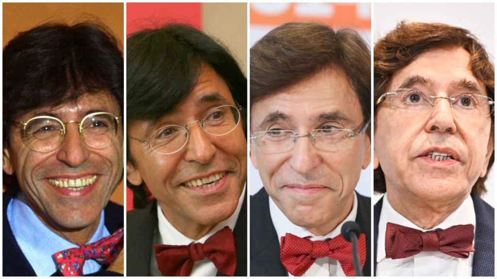 Elio Di Rupo (PS) in 1999, 2005, 2014 en 2020