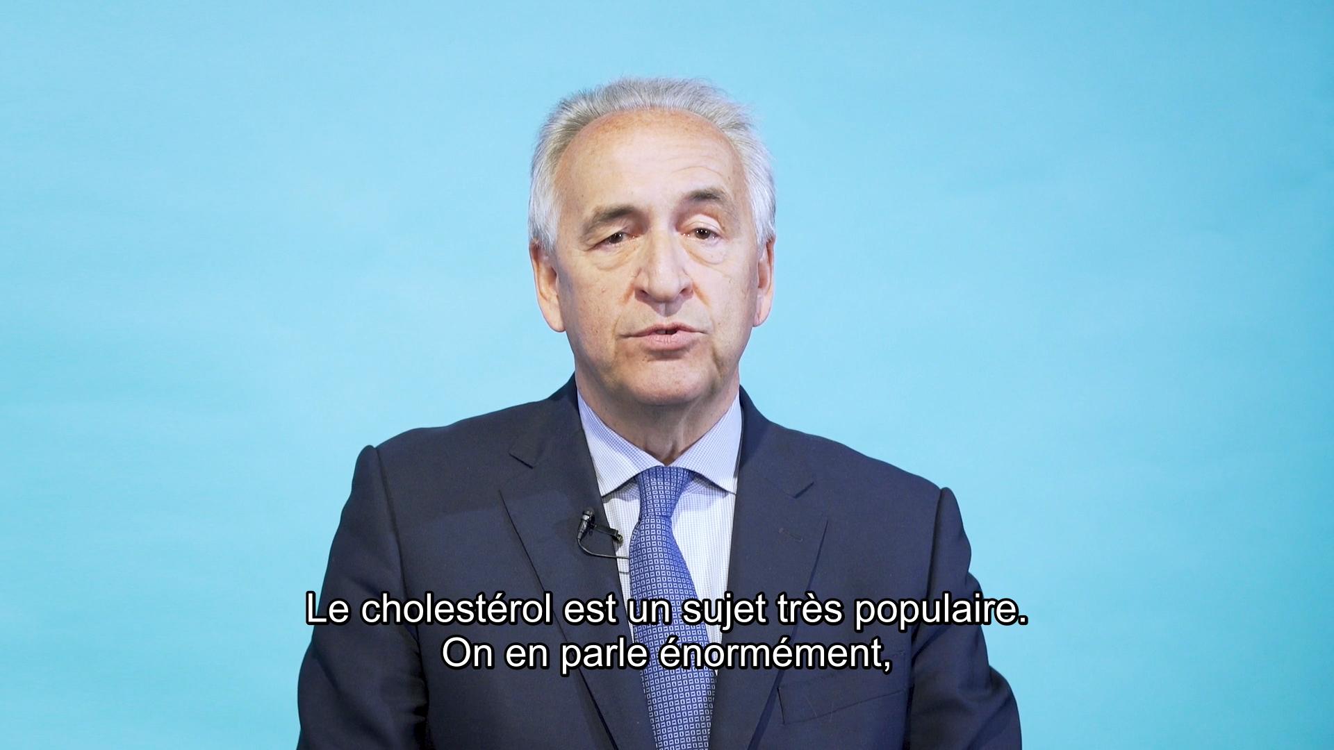 Parole d'expert: Qu'est-ce que le cholestérol ?