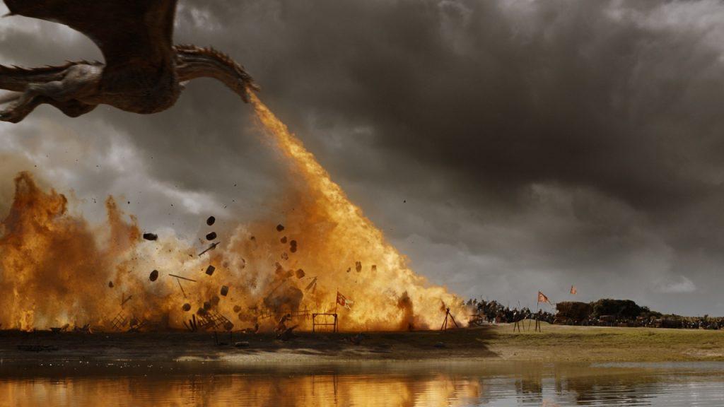 Game of Thrones vuur draak