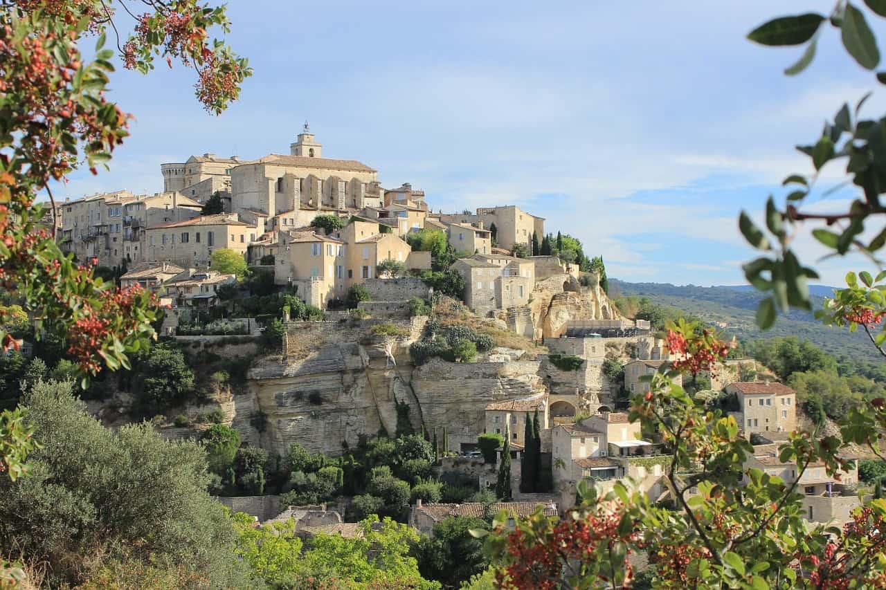 Gordes, een van de mooiste Franse dorpjes.