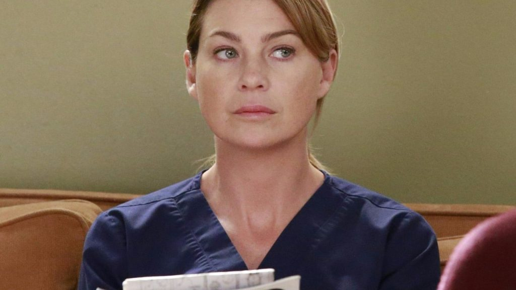 Grey's Anatomy Ellen Pompeo Meredith Grey