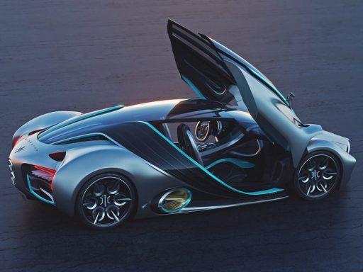 Voici l'Hyperion, la voiture à hydrogène, 'avec la puissance d'une bombe atomique'
