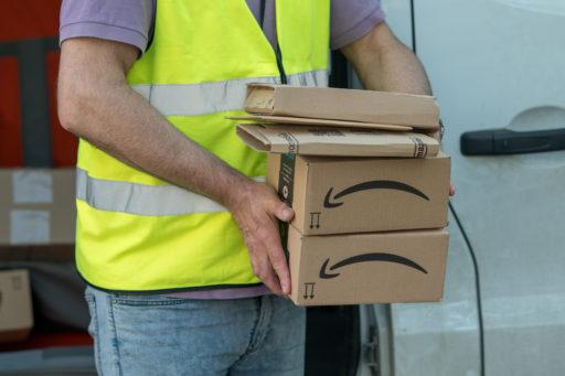 Amazon goed voor kwart van omzet van alle 'cross-border' onlineverkoop in Europa