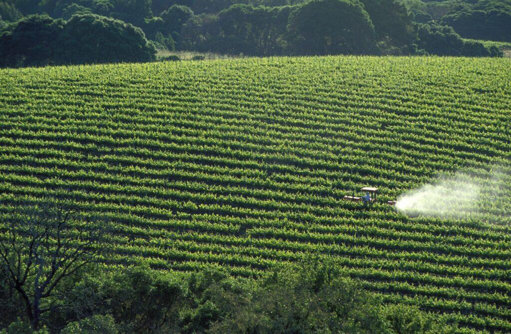 pesticidegebruik in Frankrijk
