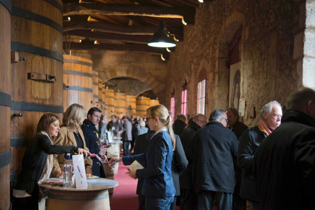 Primeur tasting 2014 Domaines Baron de Rothschild