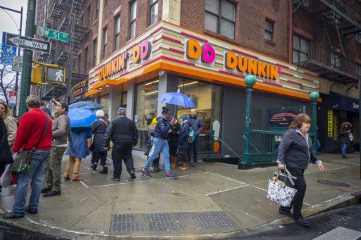 Dunkin' Donuts voert overnamegesprekken met concurrent