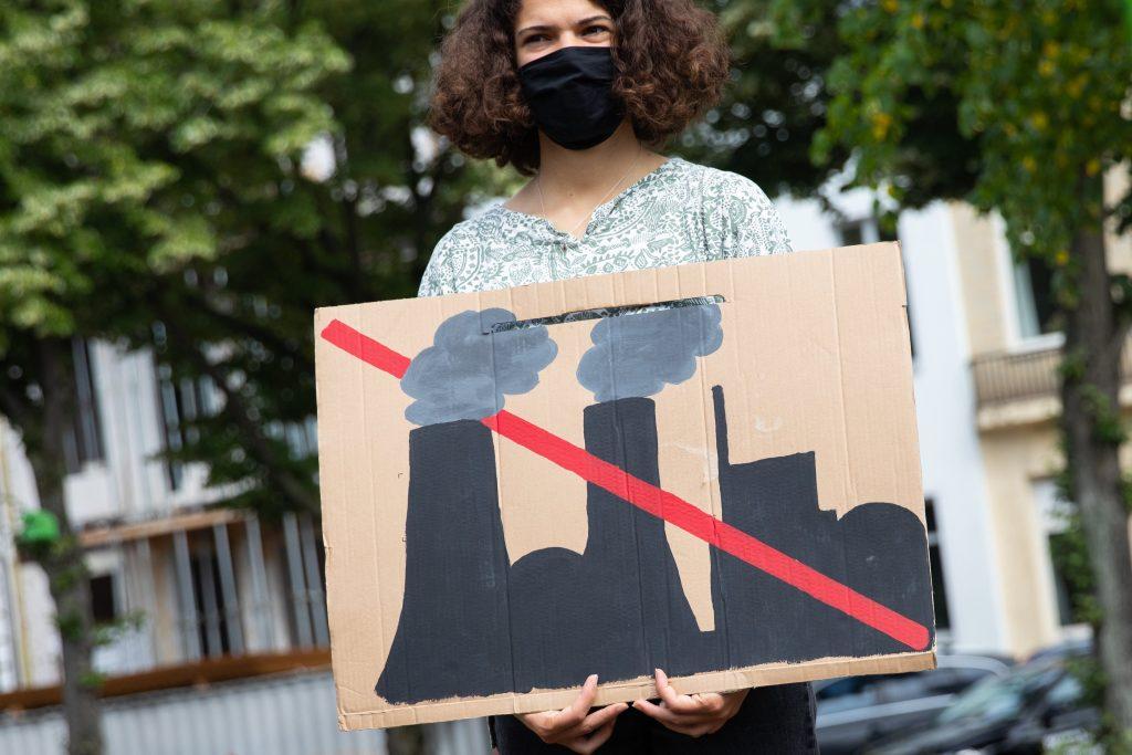 klimaatprotest in Duitsland