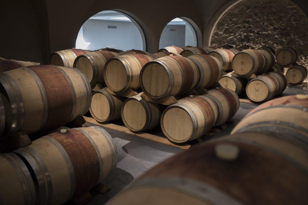 Wijnvaten in Frankrijk