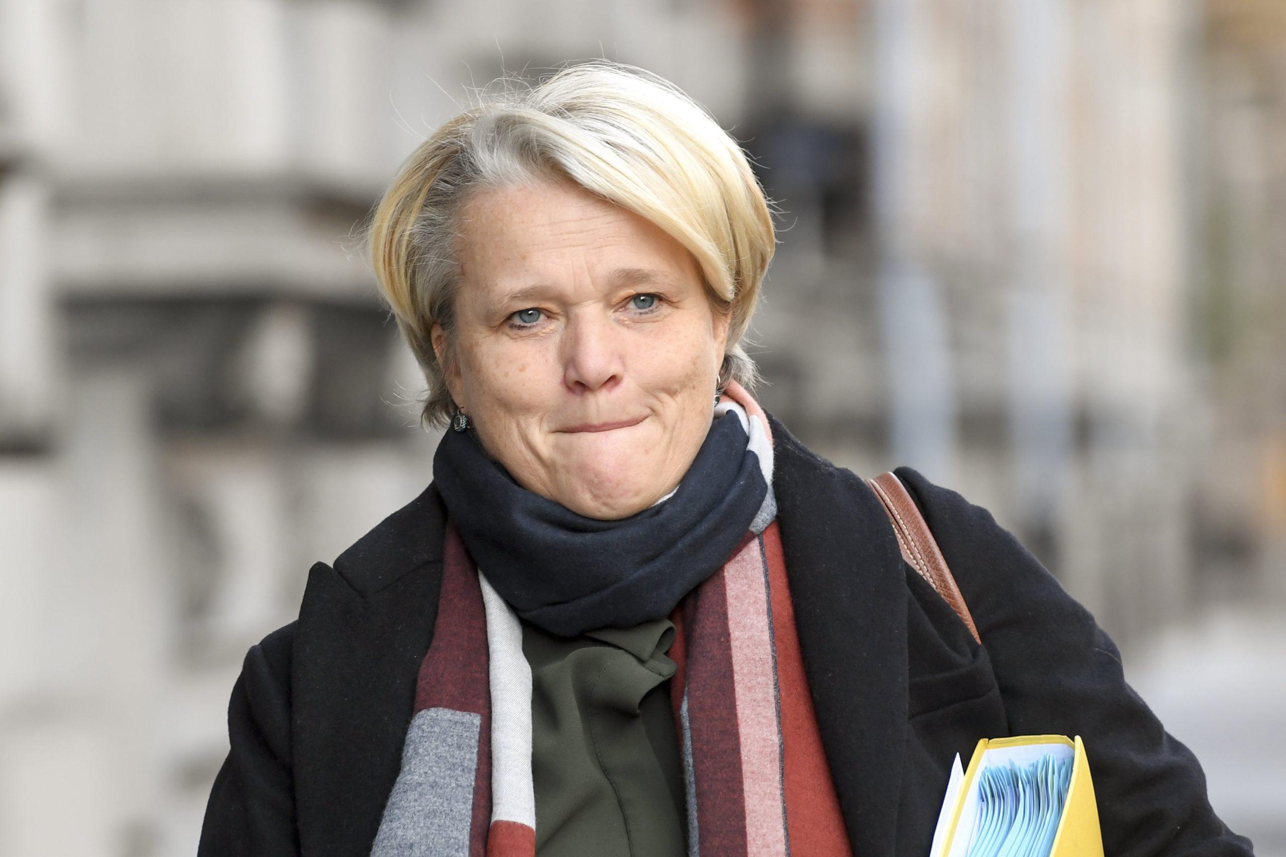 Nathalie Muylle is minister van Werk en Economie in de ontslagnemende federale regering. - Isopix