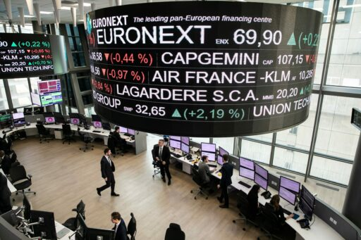 Griekse holding maakt het mooie weer op Brusselse beurs