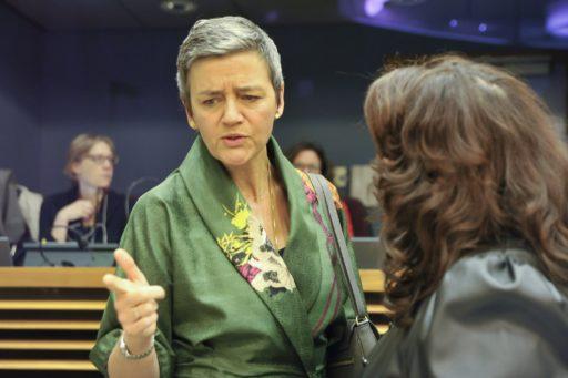 Vestager volhardt in strijd om miljarden aan achterstallige belastingen Apple