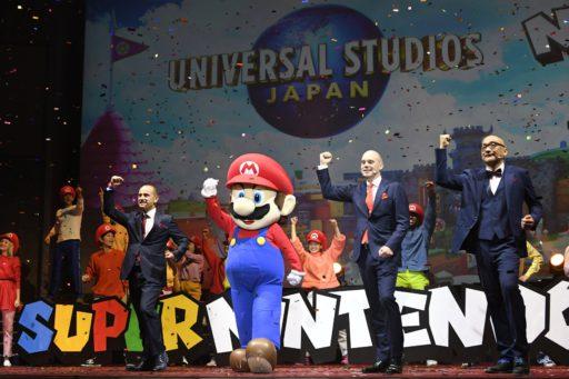 Le parc d'attractions dédié à Super Mario devrait ouvrir ses portes au printemps