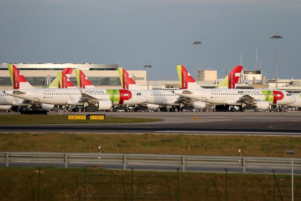Avion de la compagnie TAP Portugal