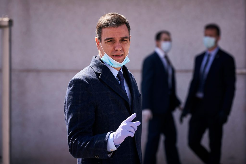Spaans premier Pedro Sanchez