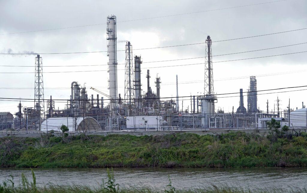 olieraffinaderij in Noord-Amerika