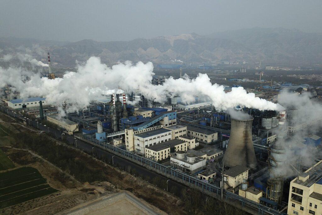 Een kolencentrale in China