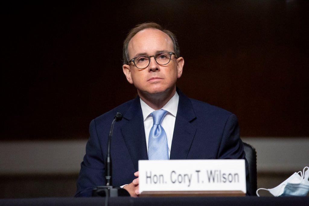 Cory Wilson, een van de vele door president Donald Trump aangestelde rechters.