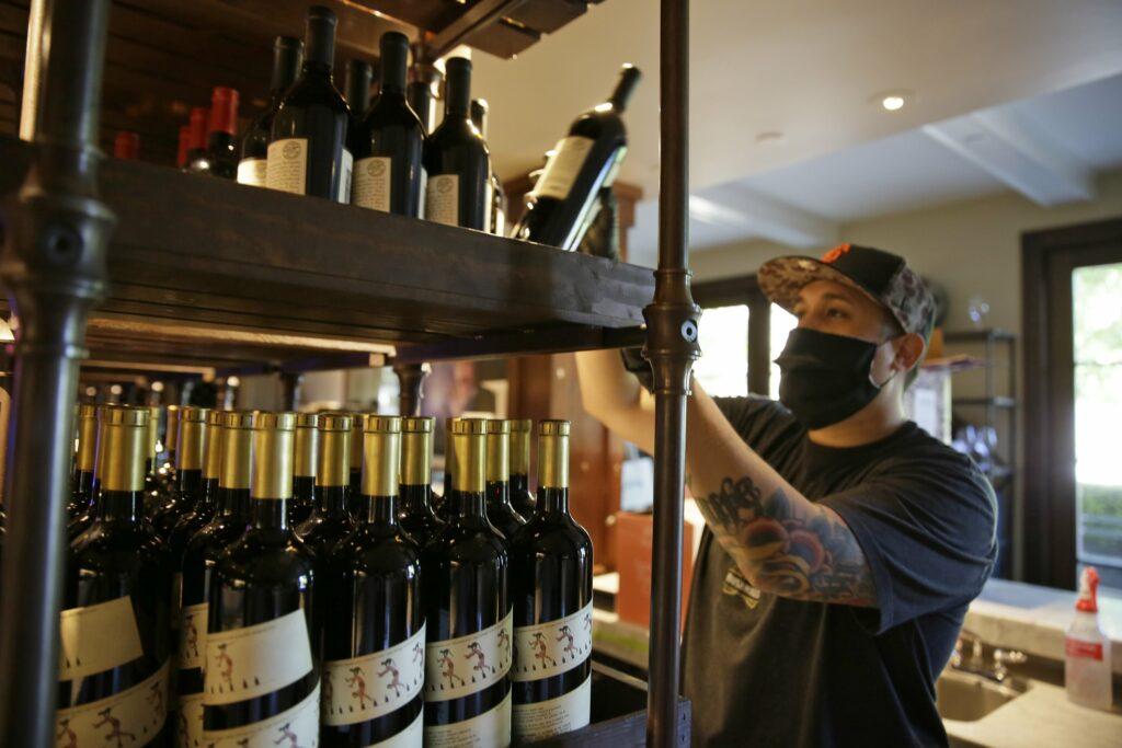 wijn verkopen corona