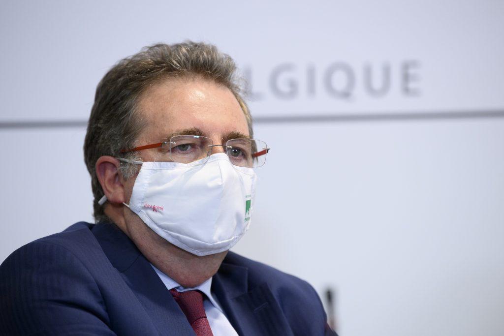 Brussel: algemene mondmaskerplicht zodra alarmdrempel van 50 gevallen per 100.000 bereikt is