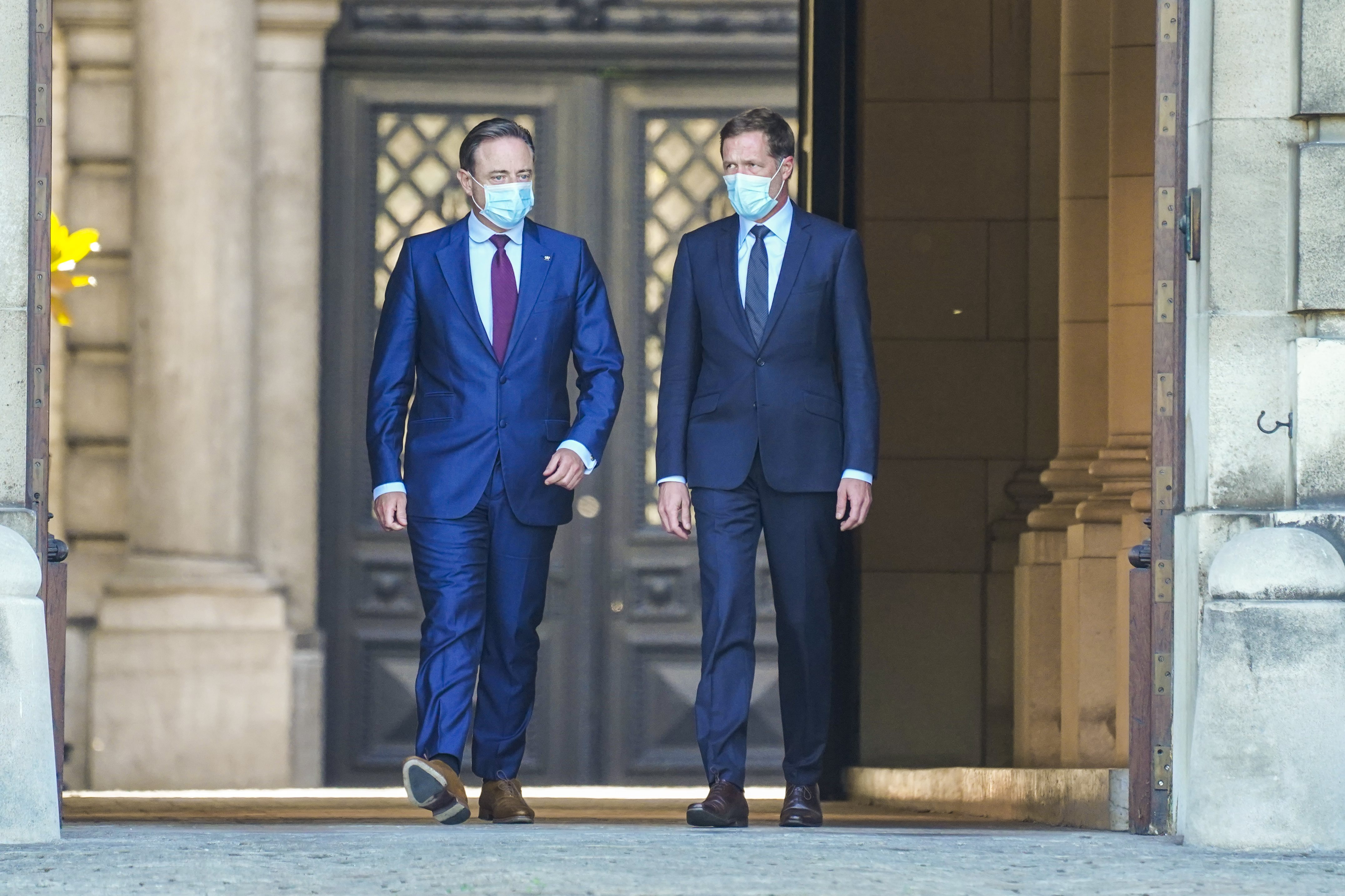 Bart De Wever (N-VA) en Paul Magnette (PS)